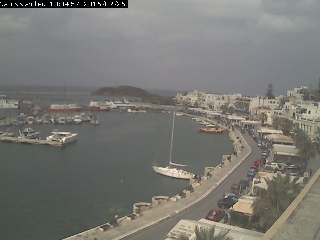 Naxos webcam - Naxos island seafront view webcam, Cyclades, Cyclades